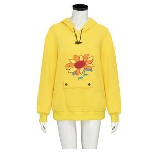 Anime sunflower hoodie